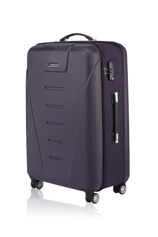 "LUXAGE 29"" FOLDABLE V-HARDSIDE LUGGAGE  PURPLE-3988917"