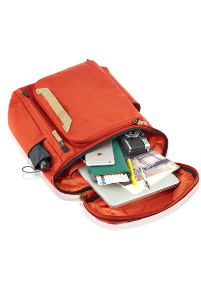 VALIANT MULTI-FUNCTIONAL BACKPACK-ORANGE-3380158