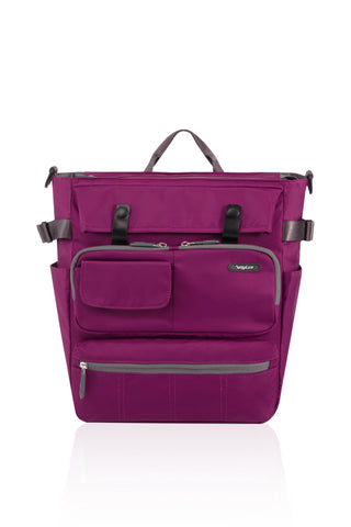 VAST MULTIFUNCTIONAL 3 WAY BAG-ROSE PURPLE-3381093