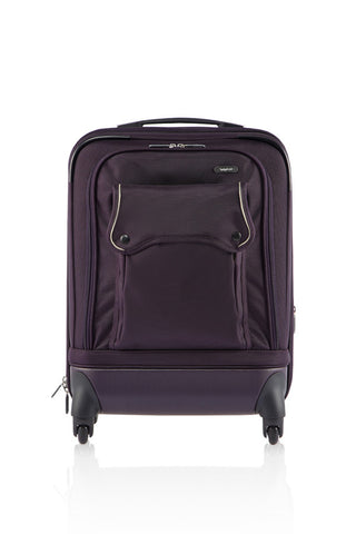 "WINSOME  22"" LUGGAGE-PURPLE-3388217"