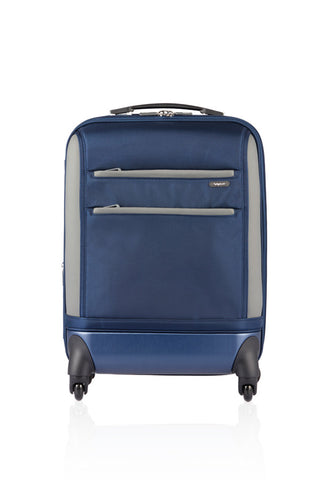 "XLIM 22"" EXPANDABLE CARRY-ON LUGGAGE-NAVY-3488219"