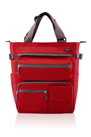 VEGO MULTIFUNCTIONAL 4 WAY TOTE-RED-3580112