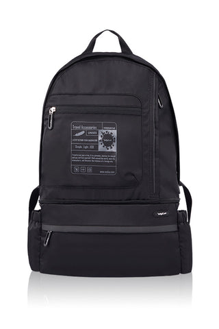 VERSATILITY FOLDABLE BACKPACK-BLACK-3681604C