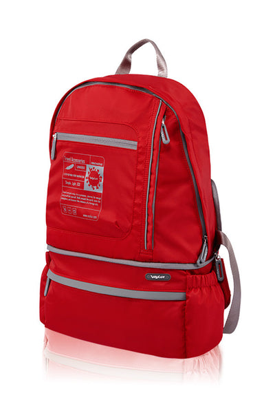 VERSATILITY FOLDABLE BACKPACK-RED-3681612C