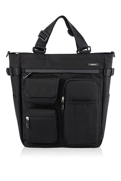 POLYESTER MULTIFUNCTIONAL 4 WAY TOTE-GLAY-3682008
