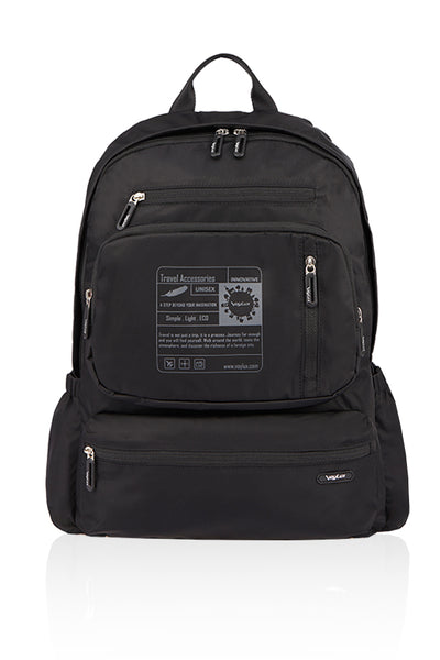 VITAL Detachable Outdoor Backpack-BLACK-3684004
