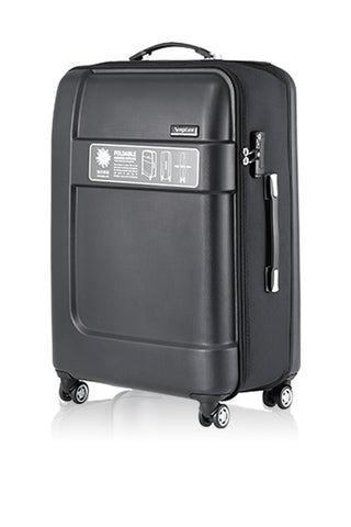 "LUXAGE 28"" FOLDABLE HARDSIDE LUGGAGE-GREY-3988808A"