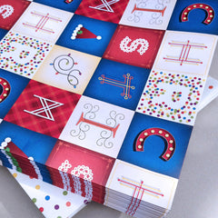 Wrapping paper – Double-sided Christmas/Patterned