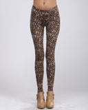 Brown Leopard Leggings