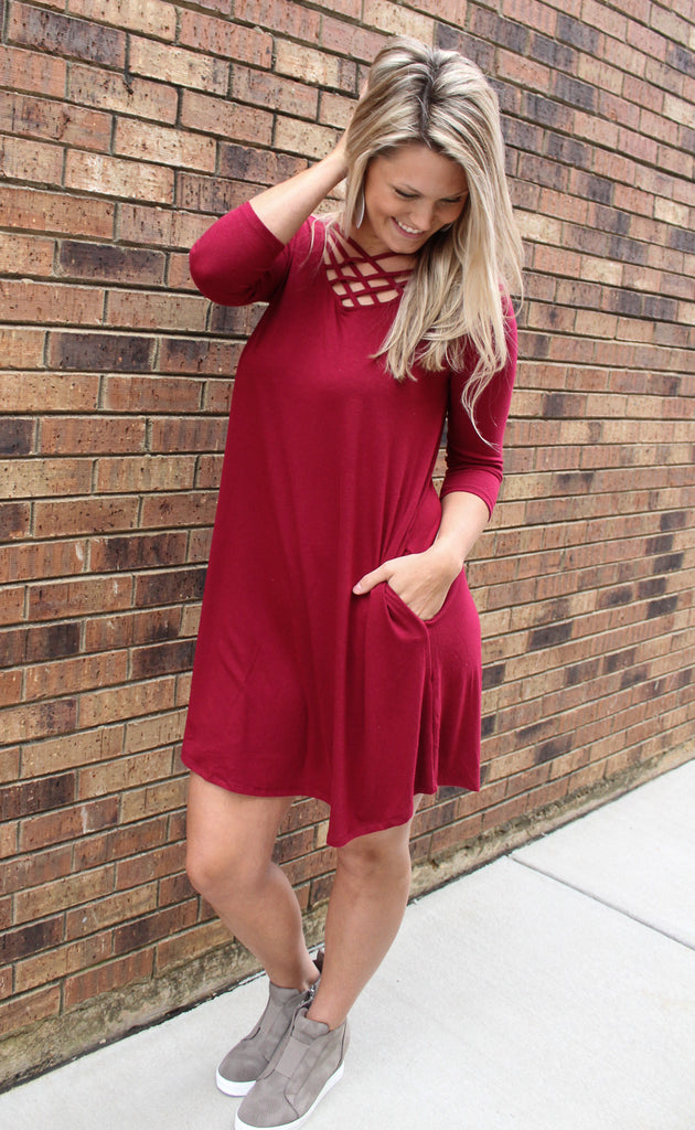 Weekend Basic Fall Dress