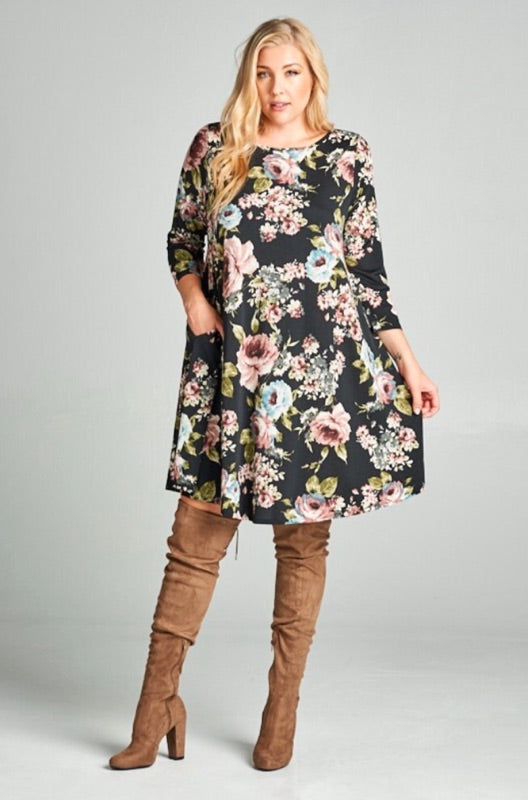 Women's Floral with Pockets ssale