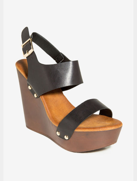 Two Tone Moda Wedge