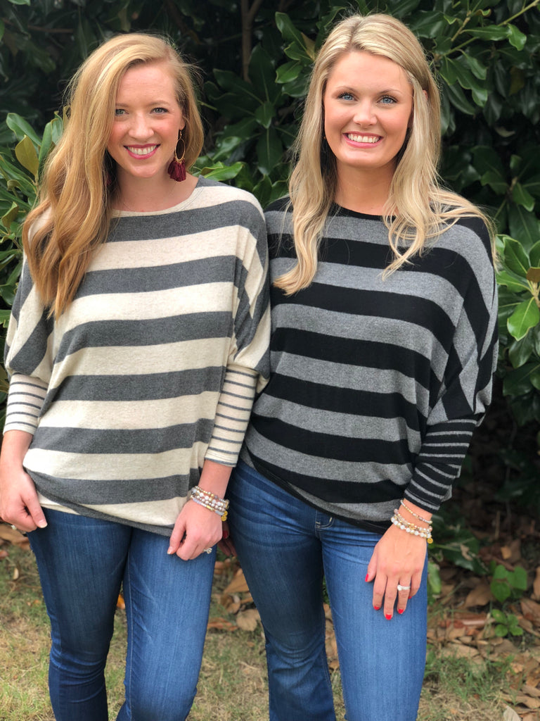 Stripe-Tastic Sweater