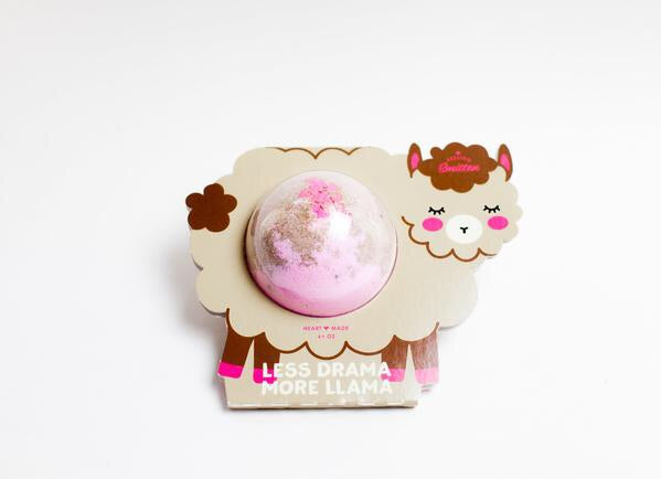 Feeling Smitten- Less Drama More Llama Bath Bomb Case