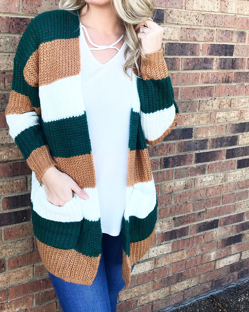 Stripes are Life Cardigan