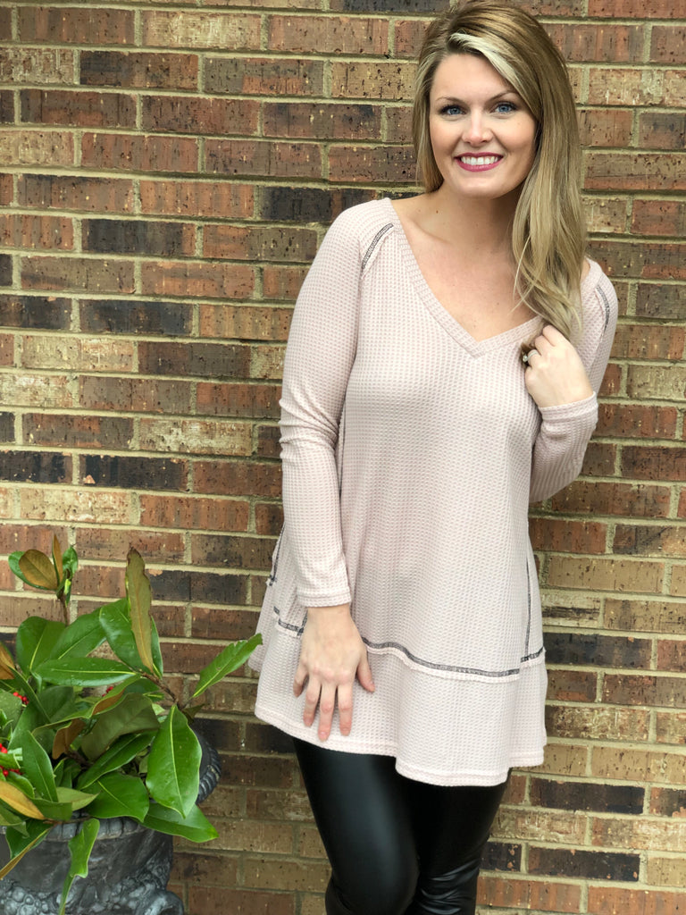 You Make Me Blush Tunic