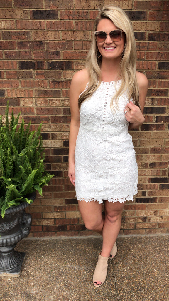 Southern Belle Lace Dress