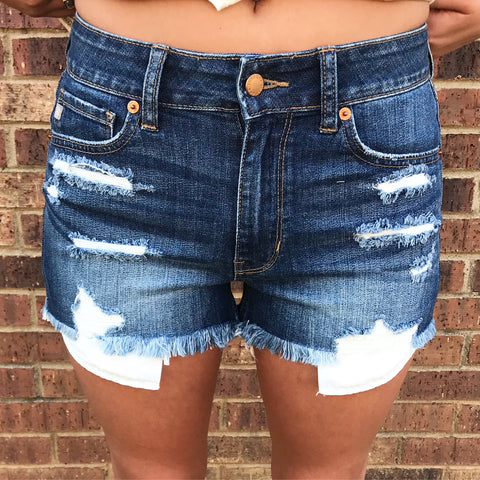 Peek A Boo Pocket Shorts