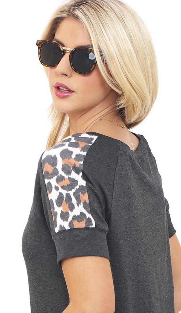 Leapin Leopard Top