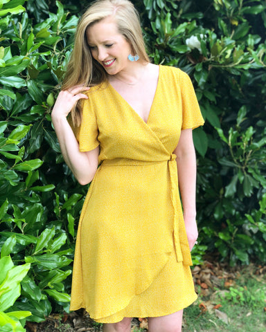 Betsy Wrap Waist Dress