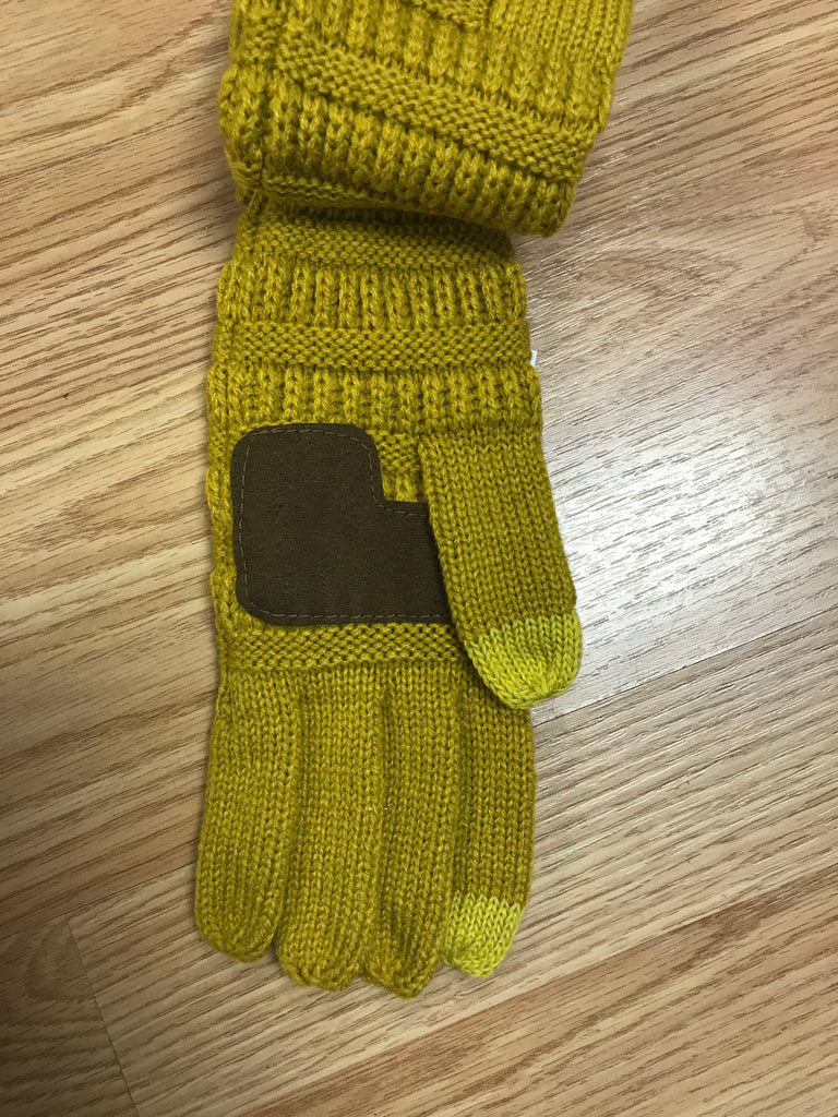 CC Knitted Touch Screen Gloves