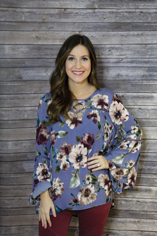 Floral Loose fit Top