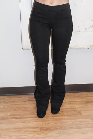 Pull On Stretch Flare Jegging