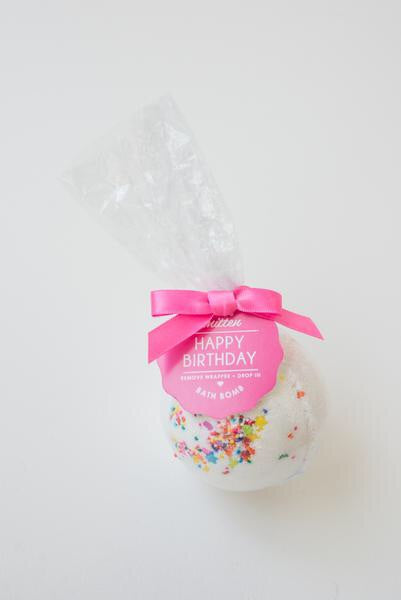 Feeling Smitten- Happy Birthday Bath Bomb
