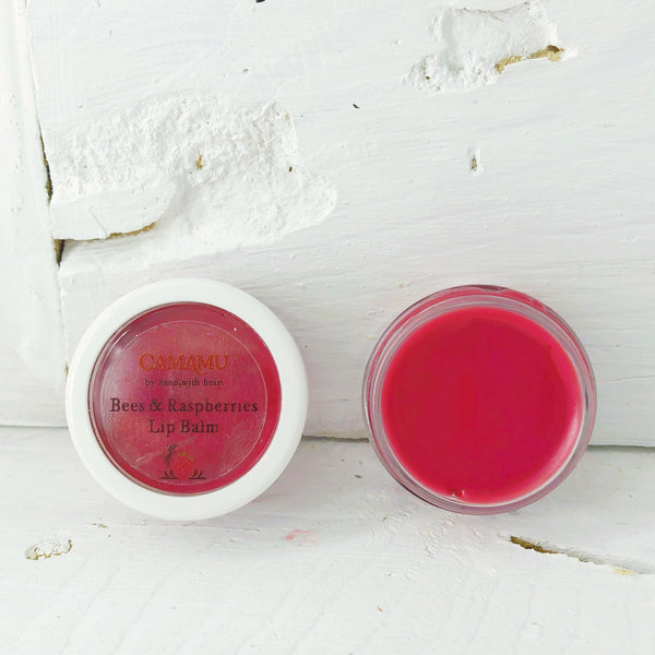 Bees'n Raspberry Tinted Lip Balm