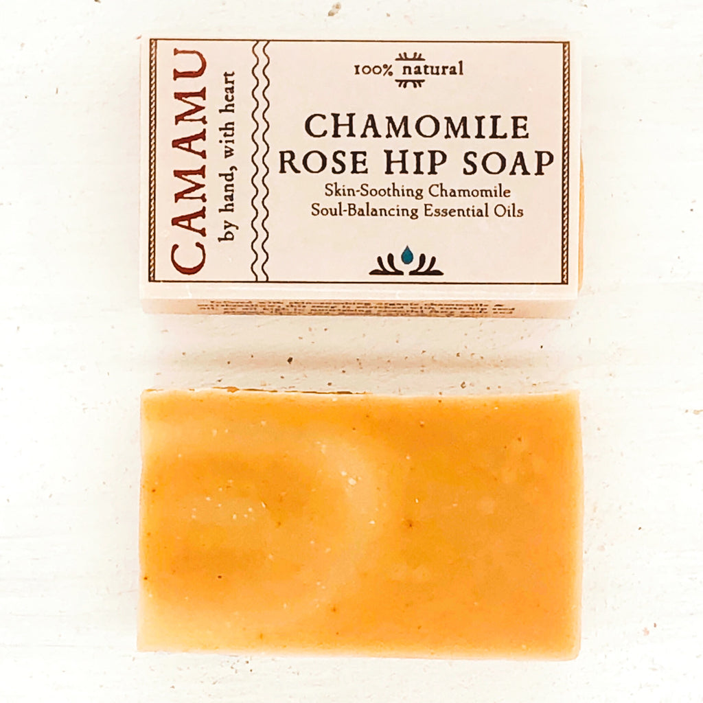 Chamomile Rose Hip Soap