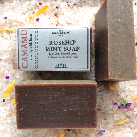 Rose Hip Mint Soap