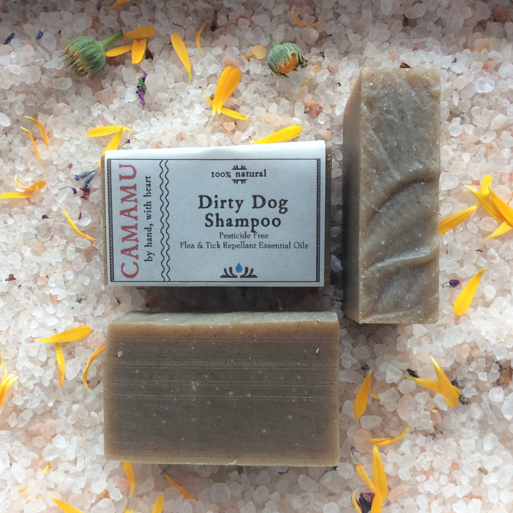 camamu dirty dog shampoo all natural bar shampoo for dogs gluten free dog shampoo vegan dog shampoo all natural pet shampoo flea and tick repellant essential oils dirty dog shampoo handmade in portland oregon dog shampoo with neem plastic bottle free pet shampoo