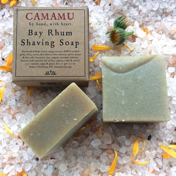 bay rhum shaving soap all natural shaving soap all natural handmade shaving soap portland oregon aromatherapeutic shaving soap camamu soap