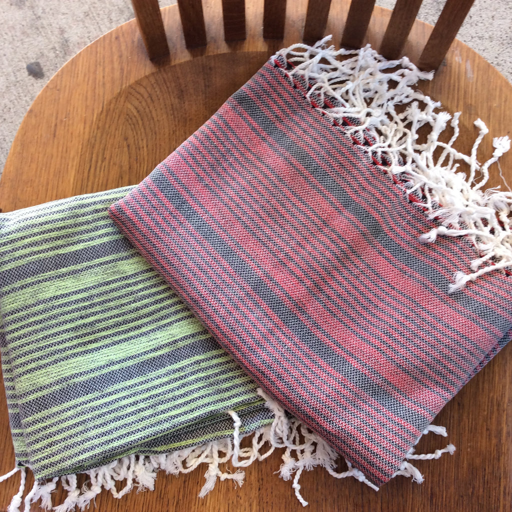 Traditional Pestemal Turkish Towels - Indian