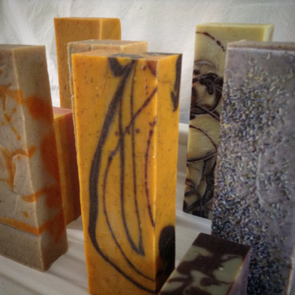 Camamu Soap's all natural handmade bricks of soap equivalent to 10 bars