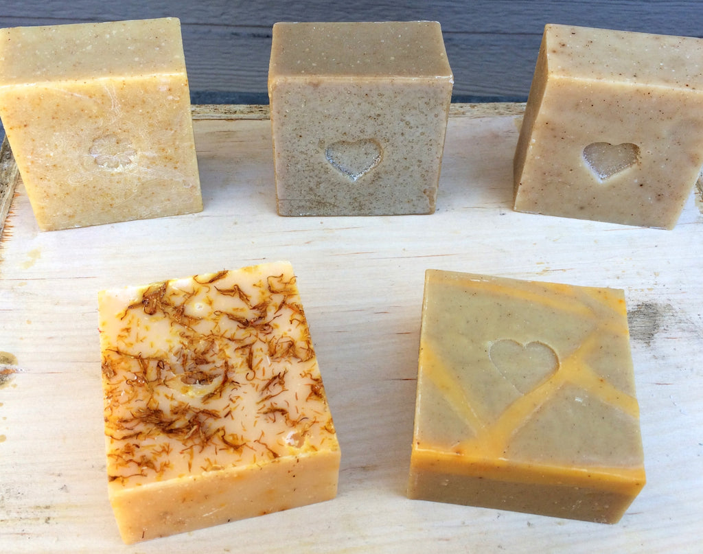Camamu Soap offers a variety of all natural handmade 6 oz chunk soaps. Currently available are Citrus Burst, Double Olive Castile and Shea & Spice Soaps.