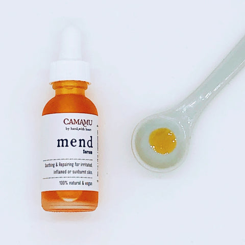 Mend Serum: Soothing, Calming & Moisturizing for Skin Redness & Sun lovers!