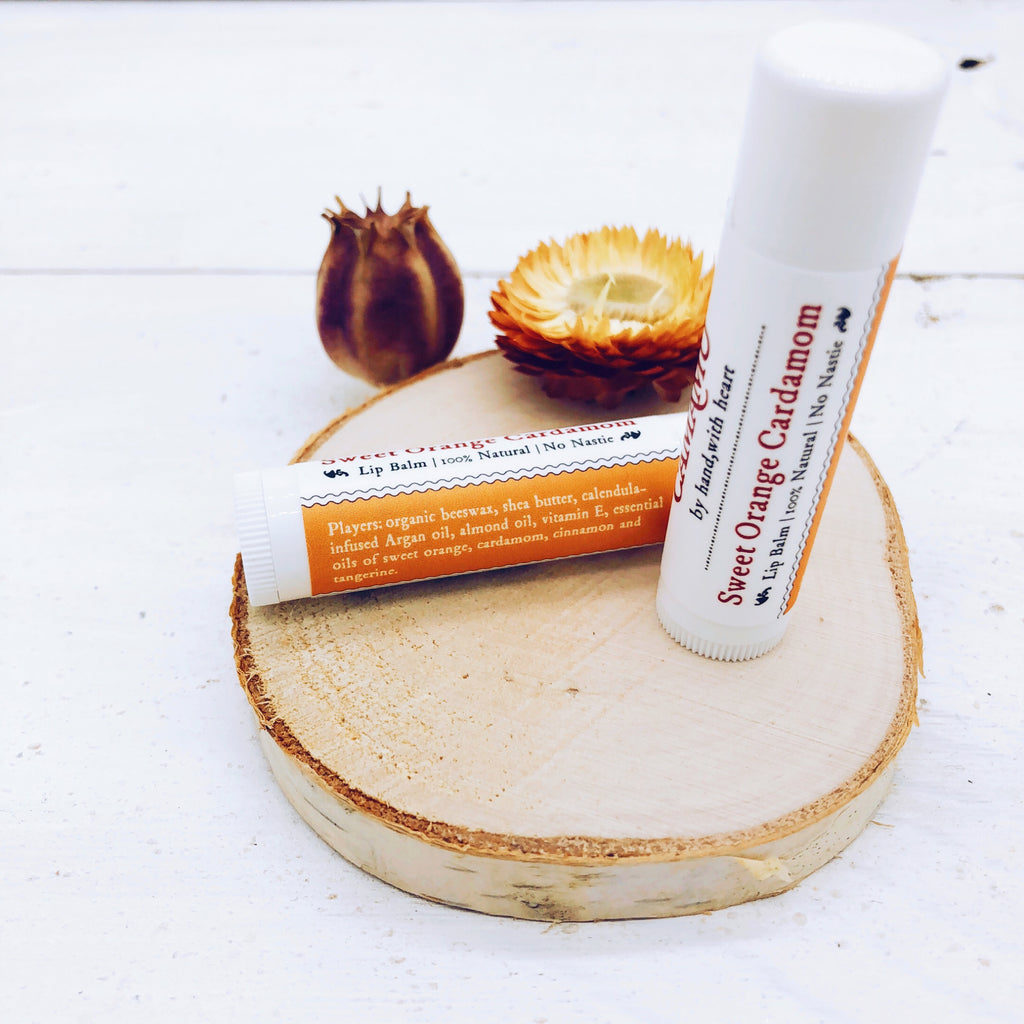 Sweet Orange Cardamom Lip Balm