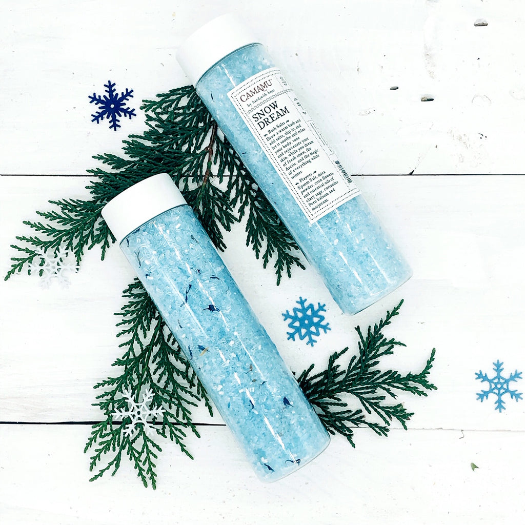 Snow Dream Holiday Bath Salts: limited edition