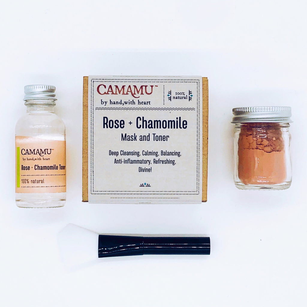 NEW: Rose + Chamomile Mask & Toner
