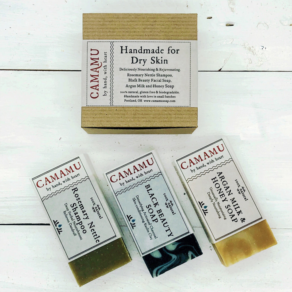 Camamu Handmade Set for Dry Skin