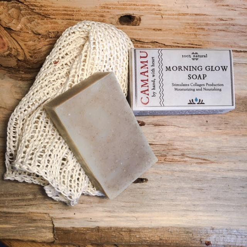 Morning Glow Soap (formerly known as Argan Oil Gotu Kola Soap)