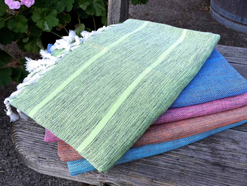 Traditional Pestemal Turkish Towels - Turkman