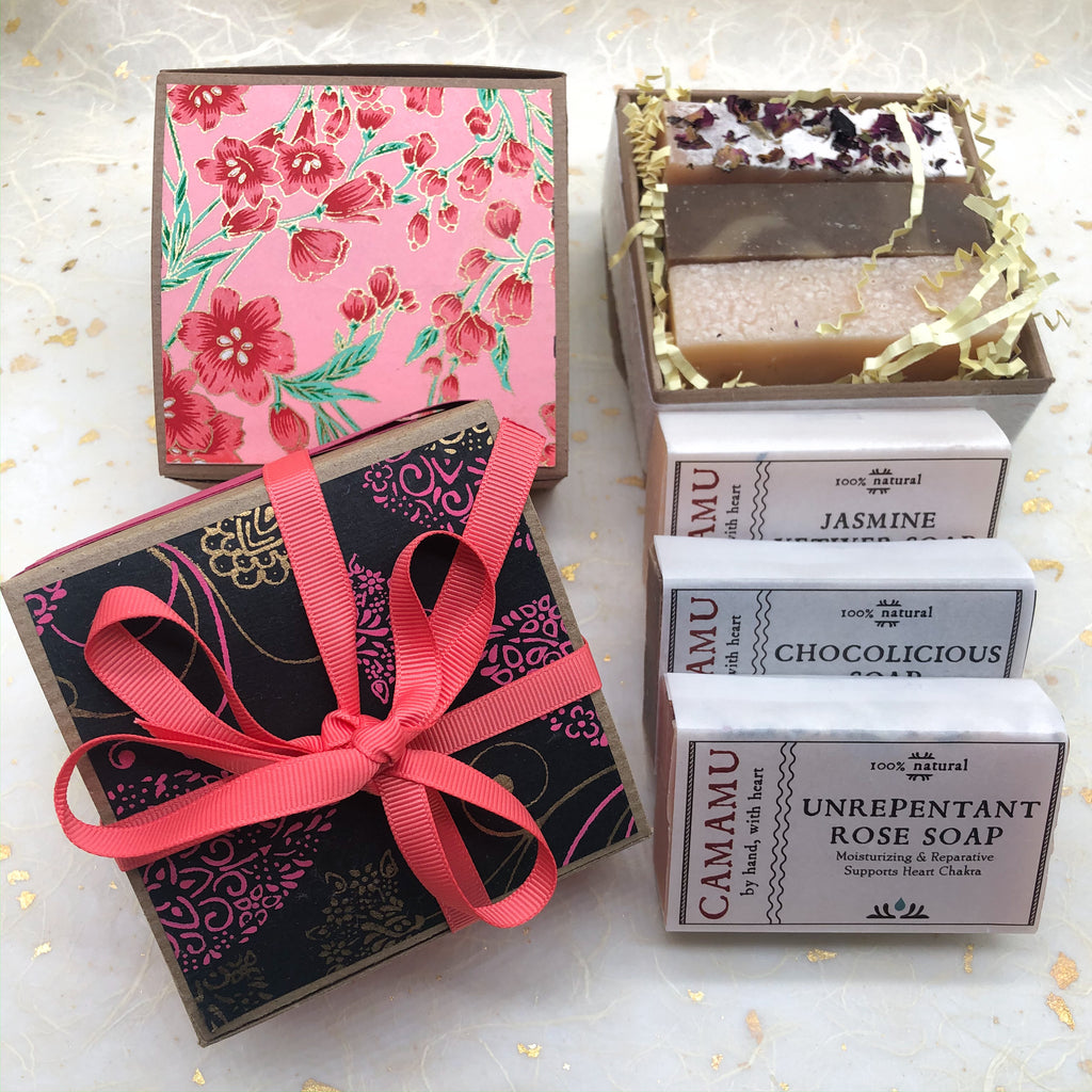 Roses, Chocolate & Jasmine Gift Box