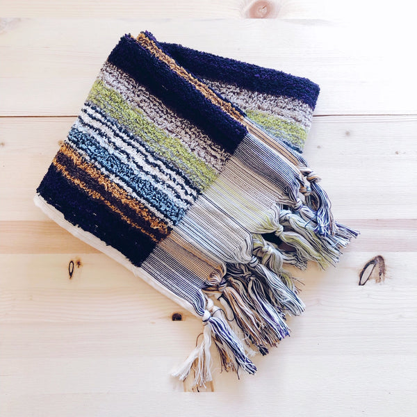 Turkish Traditional Hand Towels - Handloomed Vintage Stripes