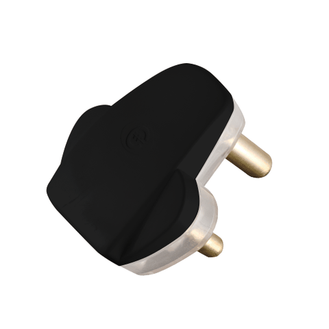 Crabtree Plug Top Slim 16A Black 1048BKP