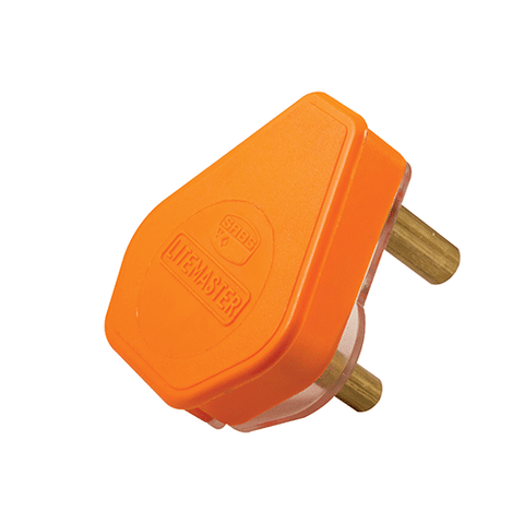 Crabtree Plug Top 3 Pin 16A Orange 1057P