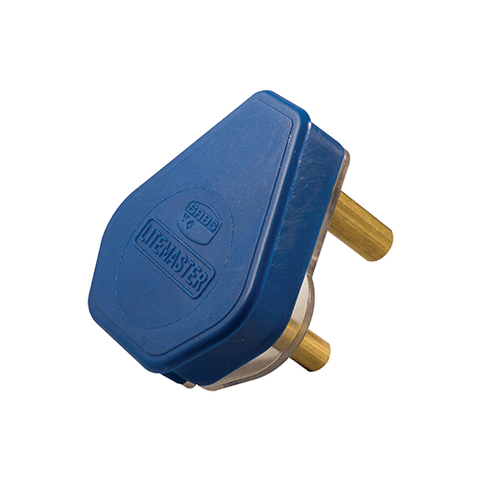 Crabtree Plug Top 3 Pin 16A Blue 1059P