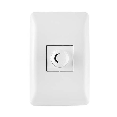 Crabtree Diamond Rotary Dimmer with Internal Light Switch 10801/601
