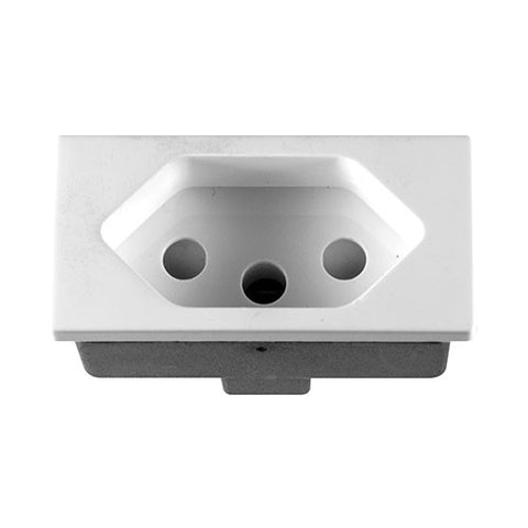 Crabtree - Diamond Ducting Slimline Compact 16A Socket Module - 11850/001